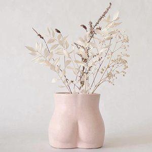 Boho Booty/Butt Plant Vase Decor Minimalist Gift